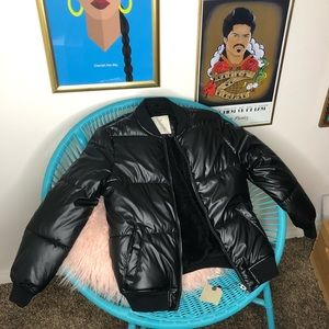 Zara boys bubble coat size 10 NWT